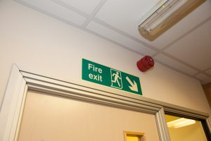 Fire Door Exit Sign